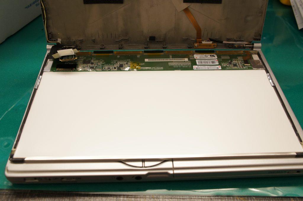 CF-SX4液晶交換