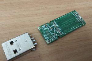 USBが折れた